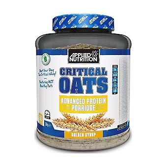 Critical Oats Protein Porridge, Golden Syrup 3000 g