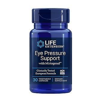 Suporte da pressão ocular com Mirtogenol 30 cápsulas vegetais