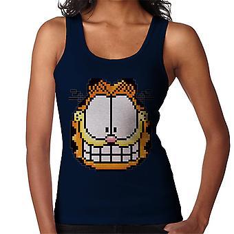 Garfield Pixelated Grin Women's Vest