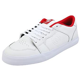 Element Heatley Mens Skate Trainers in White