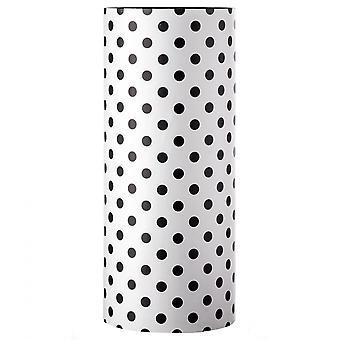Rebecca Meubles Parapluie parapluie parapluies toile blanche bois noir 54x23x23