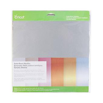 Cricut Cricut Poster Board Metallics 12x12 Inch