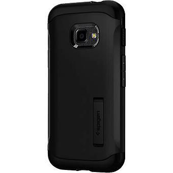 Spigen Slim Panssarin kotelo Samsung Galaxy XCover Pro Musta