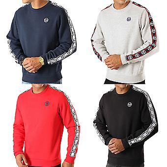 Sergio Tacchini Mens Delaco Casual Pullover Taped Sweatshirt Sweater Jumper