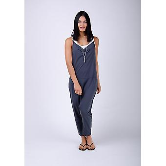 Cindy jersey jumpsuit - charcoal