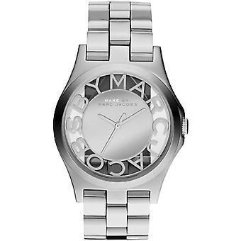 Marc Jacobs MBM3205 40mm Silver Steel Bracelet & Case Mineral Ladies Watch