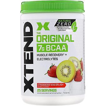 Xtend, Xtend, The Original 7G BCAA, Natural Zero, Strawberry Kiwi Splash, 13 oz