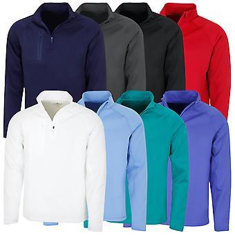 Bobby Jones Mens XH2O Crawford 1/4 Zip Golf Pullover Sweater