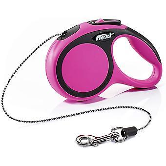 Flexi New Comfort Cord (3m) - Extra Klein (8kg) - Rosa