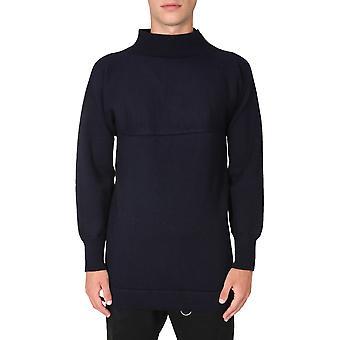 Maison Margiela S30hb0224s17462511 Men's Black Wool Sweater