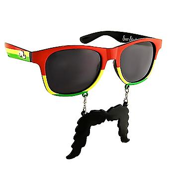 Party Costumes - Sun-Staches - Jamaicantripe Toys Sunglasses SG1327