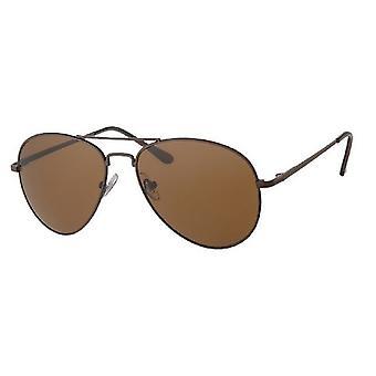 Sunglasses Men's Kat. 3 brown with brown lens