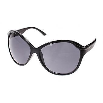 Zonnebril dameszwart met grijze lens (A60442)