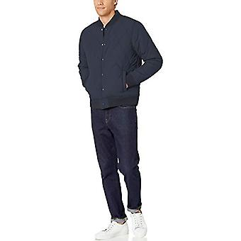 Brand - Goodthreads Men's Quilted Liner Jacket, Navy XX-Large
