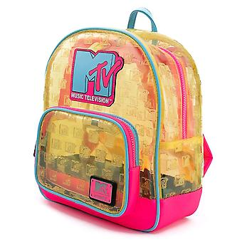 MTV Clear Neon Mini Backpack