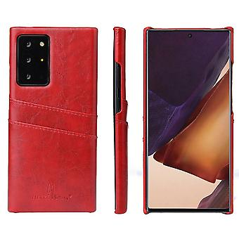 Samsung Galaxy Note 20 Ultra Case Deluxe suojakansi punainen