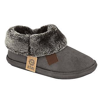 Jo & Joe Chiltern Fur Lined Fur Collar Slipper Boot