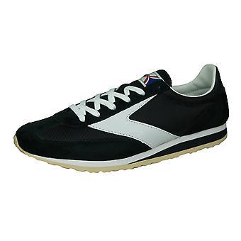 Brooks Vanguard Mens Vintage Trainers / Sneakers - Zwart-Wit