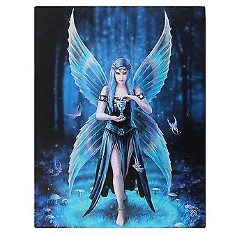 Anne Stokes 19x25cm Enchantment Canvas