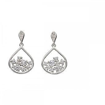 Elements Silver Scattered Zirconia Earrings E5673C