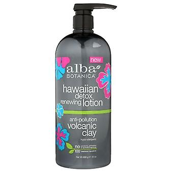 Alba Botanica Hawaiian Detox Renewing Lotion, 32 Oz