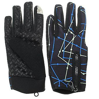 Tough Screenn Anti-dérapage Full Finger Gloves For Motorcycle Riding