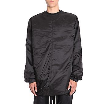 Rick Owens Rr18f1200nrjc09 Men's Black Polyester Outerwear Jacket