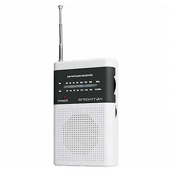 Transistorradio BRIGMTON BT-350 Weiß