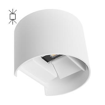 Lampada da parete da esterno led bianca