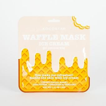Kocostar Ice-cream Waffle Sheet Mask (sensitive Skin)