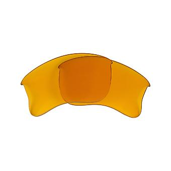 Replacement Lenses for Oakley Half Jacket 2.0 XL Sunglasses Anti-Scratch Yellow