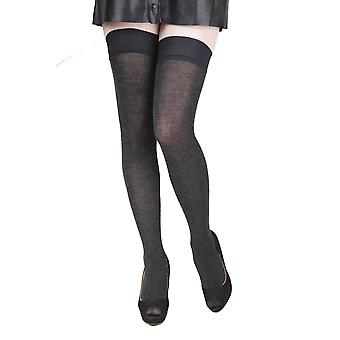 Soft Hold Ups Containing Silk Socks