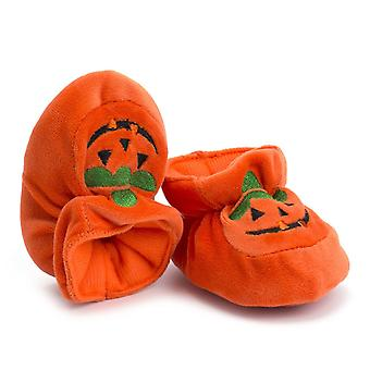 Halloween pompoen patroon-casual wieg schoenen