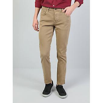 High Rise Straight Leg Pantsmen's Trousers Pants Trousers