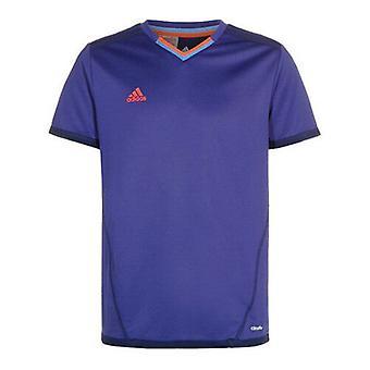 Adidas Climalite Purple Orange Kids Boys Football Training Shirt S17286 UA78