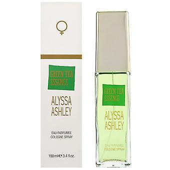 Alyssa Ashley Green Tea Essence Eau Parfumee Cologne Spray for Women 100 ml
