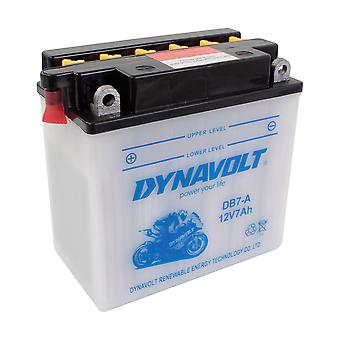 Dynavolt CB7A High Performance Battery With Acid Pack