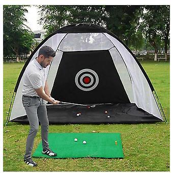 Indoor 2m Golf Praxis Net Zelt Hitting Cage Garden Grassland Praxis