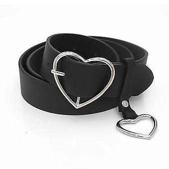 New Sweetheart Buckle With Adjustable Luxury Heart-shaped Belts