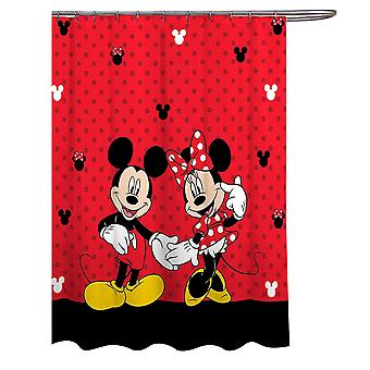 Tenda da doccia classica Disney Mickey & Minnie Mouse