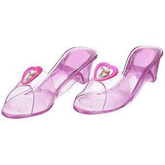 Rubie's official sofia jelly shoes, children costume - one size