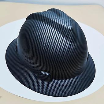 Säkerhetshjälm Bred Full Brim Hard Hat, Arbetsmössa, Metallurgy Mine Summer