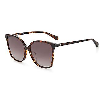 Kate Spade Asian Fit BRIGITTE/F/S 086/HA Havana/Brown Gradient Sunglasses