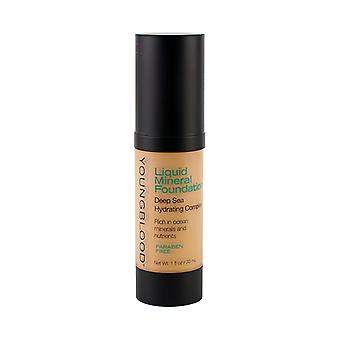 Youngblood Liquid Mineral Foundation - Pebble 30ml / 1oz