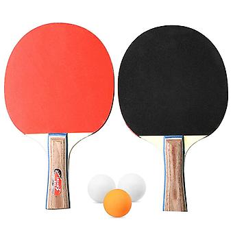 Table tennis 2 player set bats rackets