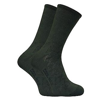 2 Pairs Mens Coolmax Lightweight Hiking Socks