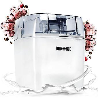 FengChun IM540 Eismaschine - Gefrierbehlter mit 1,5 L Fassungsvermgen – fertiges Dessert in 15-30