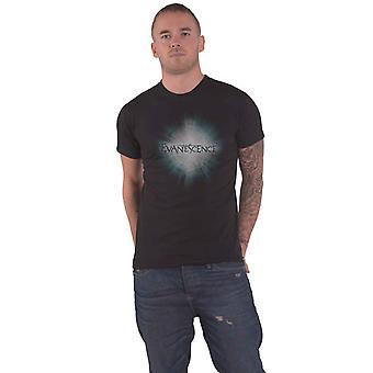 Evanescence T Shirt Shine band Logo new Official Mens Black