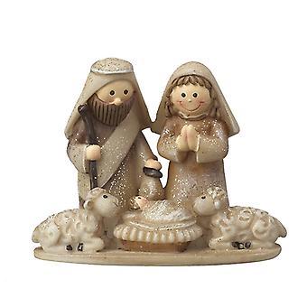 Heaven Sends Mary & Joseph Nativity Scene