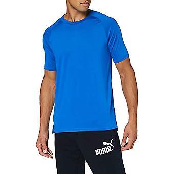 PUMA Train First Mile Mono Short Sleeve Tee, Men's T-Shirt, Blue Lapis, XXL